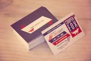 Luxury business cards.